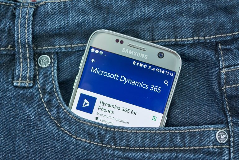 what are the major erp products of microsoft dynamics