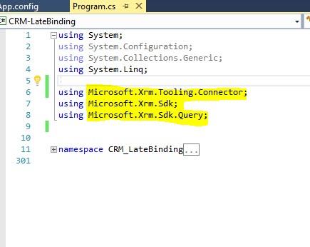 Microsoft dynamics crm api integration