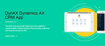 DynAX Dynamics AX CRM App