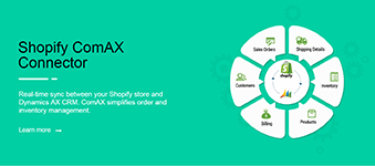 Shopify ComAX Connector