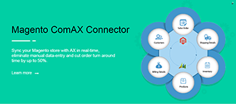 Magento ComAX Connector