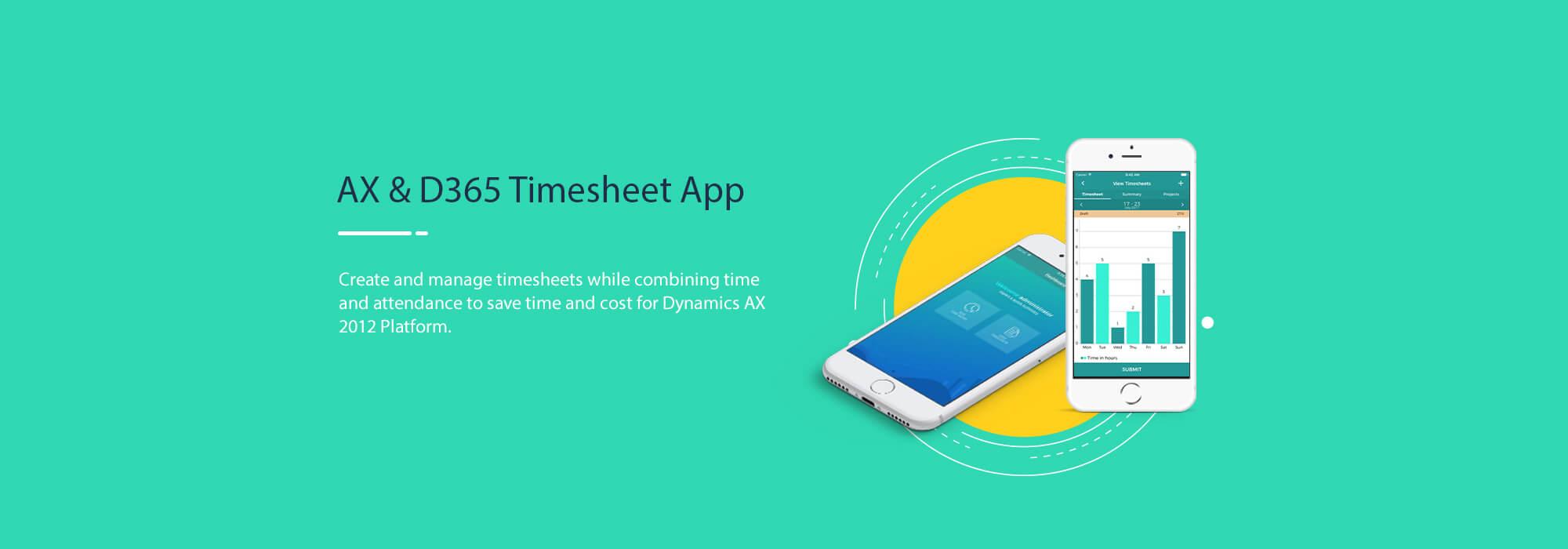 AX & D365 Timesheet App