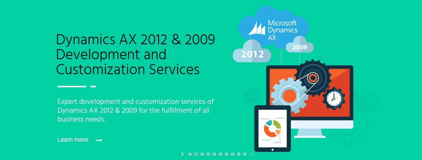 Dyn AX 2012 & 2009 Development and Customization Services