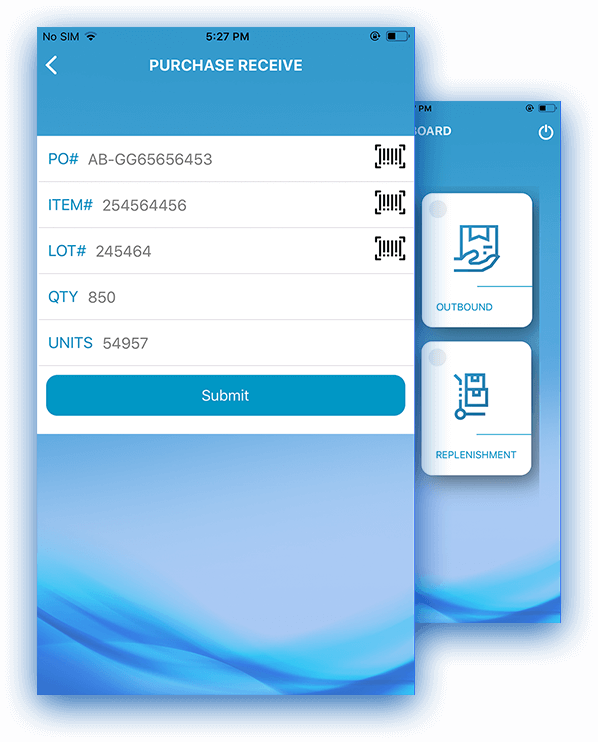 Warehouse Management App Features